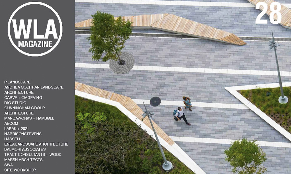 world landscape architecture magazine