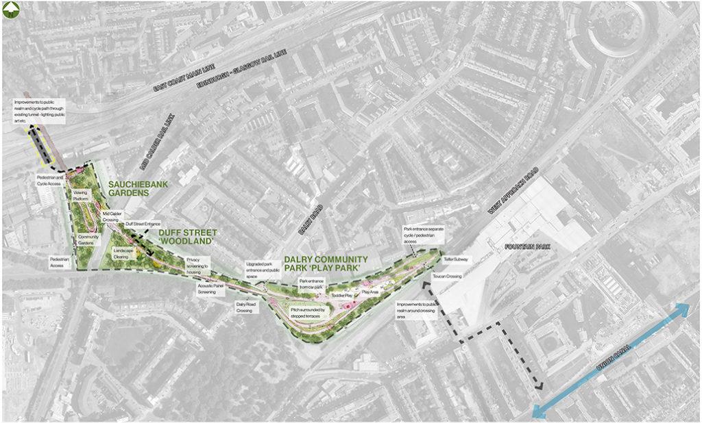Roseburn To Union Canal Masterplan